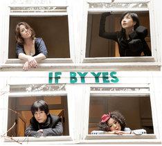 IF BY YES。左上から時計回りでペトラ・ヘイデン、本田ゆか、あらきゆうこ、清水ひろたか。