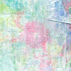 「Untitled」のジャケット(写真)はイラストレーターのOBARYが描き下ろしている。