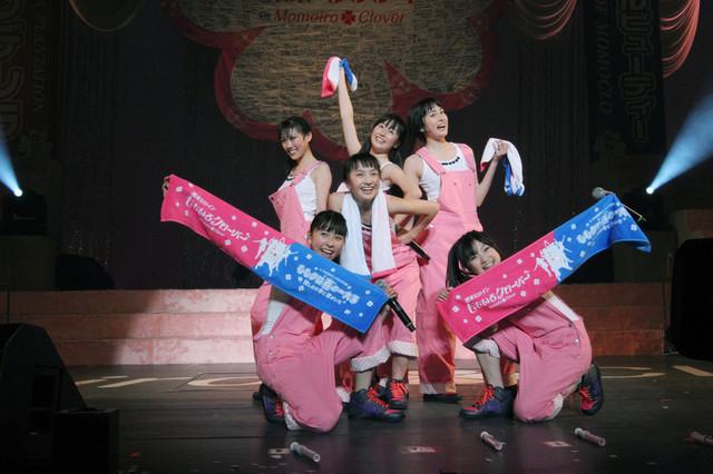第1部「ももクロ☆オールスターズ2011」より。