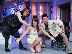 放送10周年を迎えた「堂本兄弟」ファミリーに仲間入りした、西川貴教、高橋みなみ、槇原敬之(写真左から)。