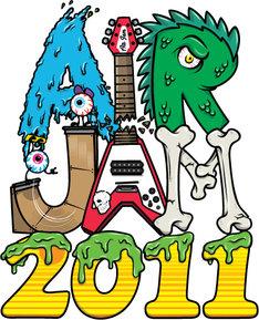 「AIR JAM 2011」ロゴ