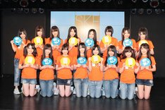 SKE48劇場で行われたフォトセッションより。