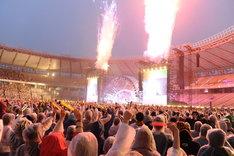 L'Arc-en-Ciel「20th L'Anniversary Live」5月29日公演の模様。