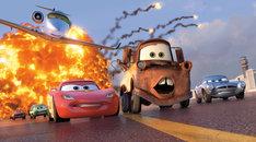 映画「カーズ2」のワンシーン。(C)Disney/Pixar