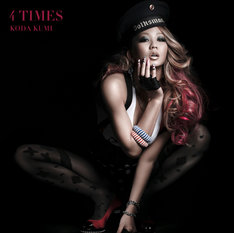 さまざまなバリエーションで倖田來未ならではの夏が表現されたニューシングル「4 TIMES」写真はCD+DVD盤ジャケット)。