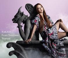 シングル「NAKED / Fight Together / Tempest」CD+DVD盤ジャケット