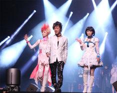 「JAPAN EXPO」でのHANGRY&ANGRY-f。