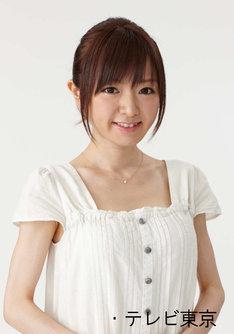 モーニング娘。在籍時にはテレビ東京系「ハロー!モーニング。」で突撃レポーター「おじゃマルシェ紺野」として活躍した紺野あさ美。