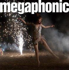 「megaphonic」通常盤ジャケット