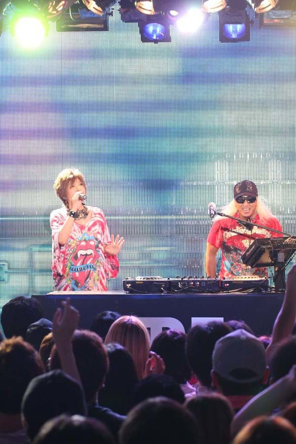 YU-KI & DJ KOO from TRF