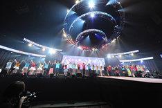 写真は「Animelo Summer Live 2011 -rainbow-」2日日アンコールの様子。(C)Animelo Summer Live 2011/MAGES.
