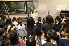 MISIAと仙台の少年・少女合唱団。