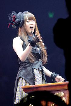 米沢瑠美(写真は昨年9月20日に行われた「AKB48 24thシングル選抜じゃんけん大会」より)