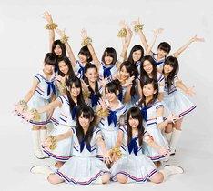 写真はNMB48「オーマイガー!」選抜メンバー。