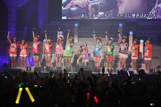 ダブルアンコールでは、10期メンバーを含む総勢13名で「涙ッチ」を歌唱。