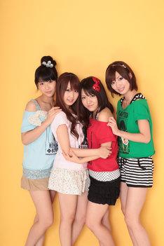写真左から仲谷明香、中田ちさと、内田眞由美、田名部生来。