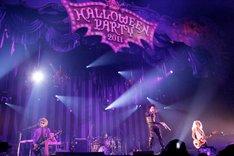 「HALLOWEEN PARTY 2011」神戸公演初日のVAMPS。