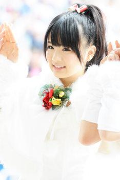 平嶋夏海(写真は昨年12月3日に行われた渡り廊下走り隊7の握手会イベントより)