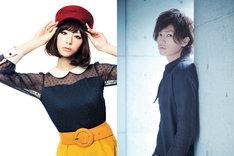 ドラマ「スイッチガール!!」で田宮仁香役を演じる西内まりや(写真左)と、神山新役の桐山漣(右)。