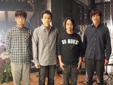 「僕らの音楽」収録現場でのASIAN KUNG-FU GENERATION。