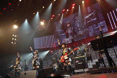 BabyBlossom初ライブの様子。