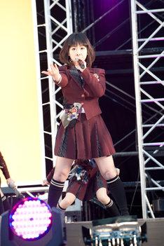 平松可奈子(写真は1月29日に埼玉・西武ドームで行われたシングル「片想いFinally」握手会イベントより)