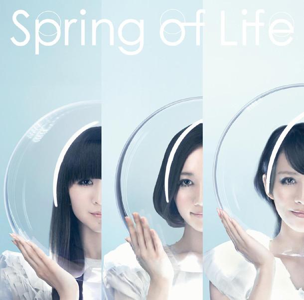 本日4月11日に発売されたニューシングル「Spring of Life」の通常盤ジャケット。
