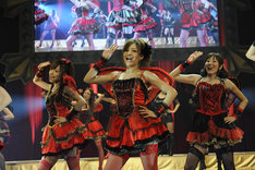 ワンマンライブ「恵比寿マスカッツコンサートツアー2012『そうだ!やっぱり渋谷公会堂に行こう!!』」の模様。