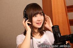 久しぶりにレコーディングに挑む小野恵令奈。