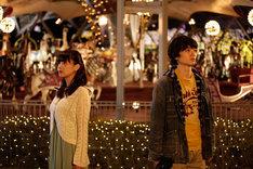 ショートドラマ「Re:dream」メインビジュアル(写真左から倉科カナ、染谷将太)