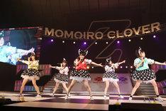 横浜アリーナ公演初日を大成功に収めたももいろクローバーZ。