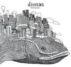 米津玄師の1stアルバム「diorama」ジャケットイラスト(写真)も、彼自身が描いたもの。