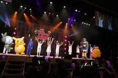 ももクロ、加藤茶のほか、飯塚悟志(東京03)、松雪オラキオ(弾丸ジャッキー)、ピカチュウ、メロエッタ、テレビ埼玉のキャラクター・テレ玉くん、ジャンボマックスが登場した。