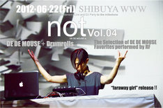 「not vol.04」フライヤー
