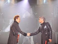 東日本大震災被災地復興支援のため2011年7月30日に一夜限りの復活を果たしたCOMPLEX。