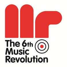 「The 6th Music Revolution」ロゴ
