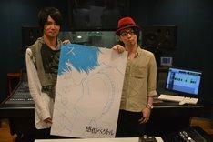 「ストロボライツ」で共演している木村良平と細谷佳正。