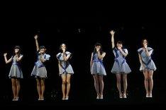 Perfumeが出演した「氷結 SUMMER NIGHT」の模様。