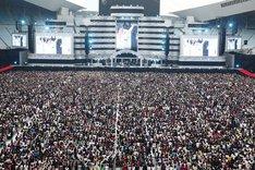 写真は7月29日の「BIG SURPRISE PARTY」の模様。