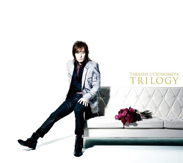 宇都宮隆「TRILOGY」初回限定盤ジャケット