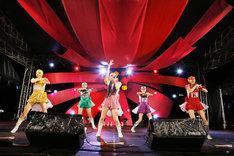 8月18日の「SUMMER SONIC 2012」大阪公演には覆面をかぶって登場。 Courtesy of SUMMER SONIC 2012 / photo by Hajime Kamiiisaka