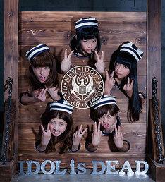 BiS「IDOL is DEAD」ジャケット