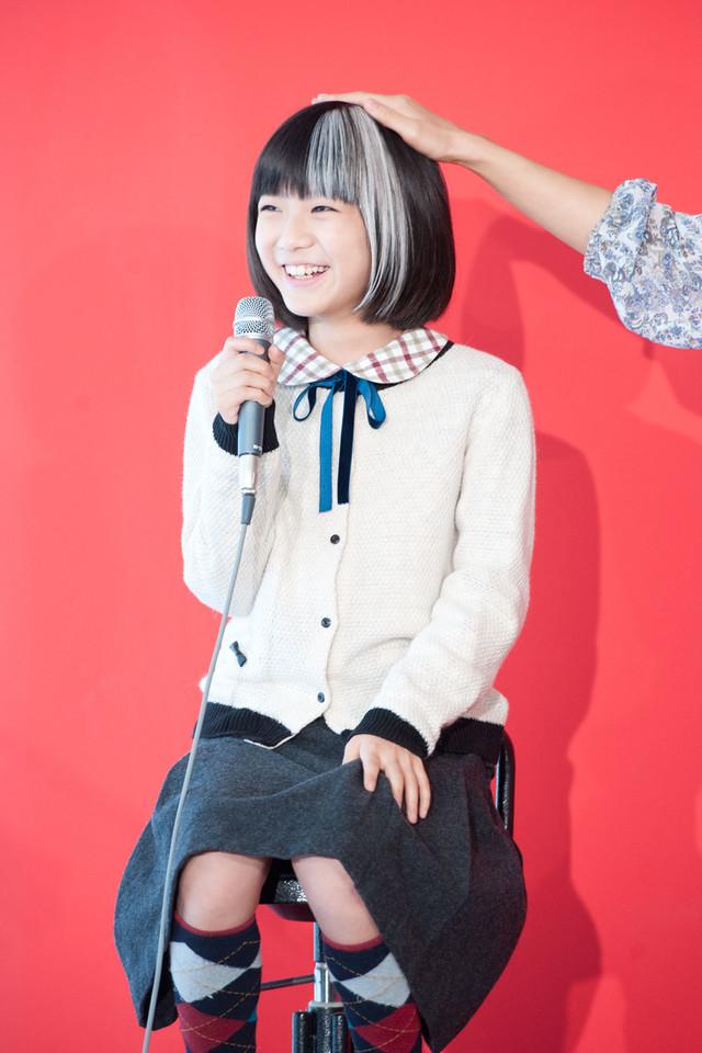 物語の軸となる転校生の「悪夢ちゃん」古藤結衣子役を演じる木村真那月。