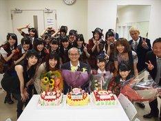 収録の合間には、司会の鈴木杏樹、石田弘エグゼクティブディレクター、秦佐和子(SKE48)、小木曽汐莉(SKE48)の誕生祝いが行われた。
