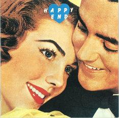はっぴいえんど「HAPPY END」ジャケット