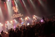 10月21日の渋谷公会堂ライブの模様。