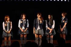 高橋みなみ、仲川遥香、高城亜樹、多田愛佳、篠田麻里子(写真左から) (C)AKS