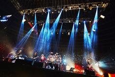 LUNA SEAが12月23日に行った大阪城ホール公演の様子。