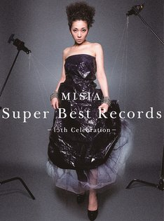 MISIA「Super Best Records -15th Celebration-」ジャケット