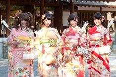 松村沙友理、橋本奈々未、白石麻衣、衛藤美彩(写真左から)